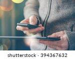 smartphone and tablet data... | Shutterstock . vector #394367632