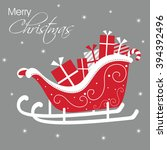 Luxury Christmas Card With...