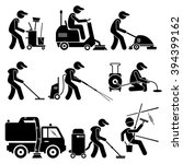 Industrial Cleaning Worker Wit...