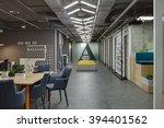 coworking in a loft style. on...   Shutterstock . vector #394401562