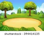 park  playground  vector... | Shutterstock .eps vector #394414135