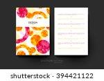 abstract background vector... | Shutterstock .eps vector #394421122