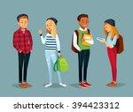 vector set of international... | Shutterstock .eps vector #394423312