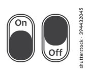 on off switch icon jpg | Shutterstock .eps vector #394432045