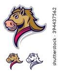 mustang sport mascot | Shutterstock .eps vector #394437562