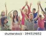 students children cheerful...   Shutterstock . vector #394519852
