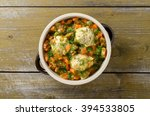 meatballs with vegetables | Shutterstock . vector #394533805