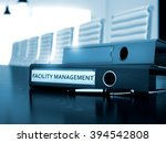 facility management   office... | Shutterstock . vector #394542808