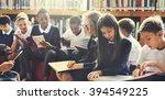 classmate educate friend...   Shutterstock . vector #394549225