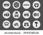 car services simply symbol for... | Shutterstock .eps vector #394558018