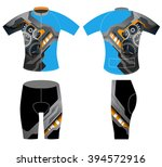 graphic on sports t shirt... | Shutterstock .eps vector #394572916