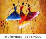 Oil Painting   Spanish Dance