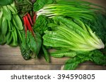 spring vitamin set of various... | Shutterstock . vector #394590805