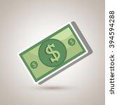 money icon design  | Shutterstock .eps vector #394594288