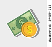 money icon design  | Shutterstock .eps vector #394594315