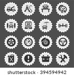 car service web icons for user... | Shutterstock .eps vector #394594942