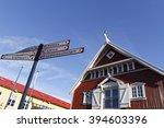 reykjavik  iceland  march 8 ...   Shutterstock . vector #394603396