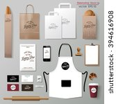 vector bakery corporate... | Shutterstock .eps vector #394616908