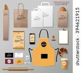 vector bakery corporate... | Shutterstock .eps vector #394621915
