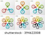 vector infographic design...   Shutterstock .eps vector #394622008