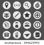contacts simply symbol for web... | Shutterstock .eps vector #394625992