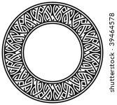 circle frame | Shutterstock .eps vector #39464578