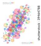multi coloured elegant... | Shutterstock . vector #39464788