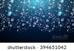 shining background for jewelry... | Shutterstock .eps vector #394651042