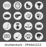 hockey simply symbol for web... | Shutterstock .eps vector #394661212