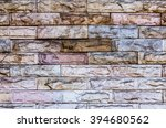 modern background of stone wall ... | Shutterstock . vector #394680562