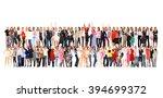 together we stand workforce...   Shutterstock . vector #394699372