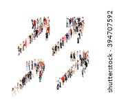 together we stand   | Shutterstock . vector #394707592
