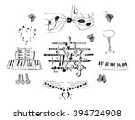 notes set | Shutterstock .eps vector #394724908
