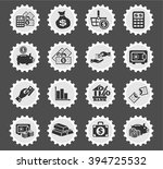 hand and money web icons for... | Shutterstock .eps vector #394725532