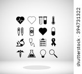 medical icons | Shutterstock .eps vector #394731322