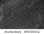 dark grey black slate... | Shutterstock . vector #394735312