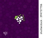 grape symbol | Shutterstock .eps vector #394737706