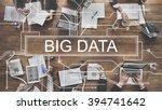 big data storage network online ... | Shutterstock . vector #394741642