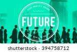 future futuristic forcast... | Shutterstock . vector #394758712