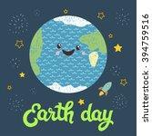 earth day. vector illustration...   Shutterstock .eps vector #394759516