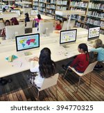 study studying learn learning... | Shutterstock . vector #394770325