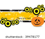 abstract grungy pattern with... | Shutterstock .eps vector #39478177