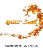 autumn wave   Shutterstock .eps vector #39478465