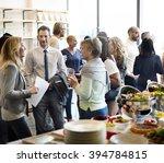diversity people party... | Shutterstock . vector #394784815
