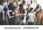 team teamwork meeting success... | Shutterstock . vector #394800145