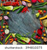collection of fresh vegetables...