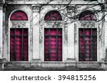Facade Of Old Abandoned...
