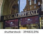 famous royal albert hall london ... | Shutterstock . vector #394831396