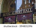 famous royal albert hall london ... | Shutterstock . vector #394831396