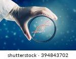 biochemistry research test | Shutterstock . vector #394843702
